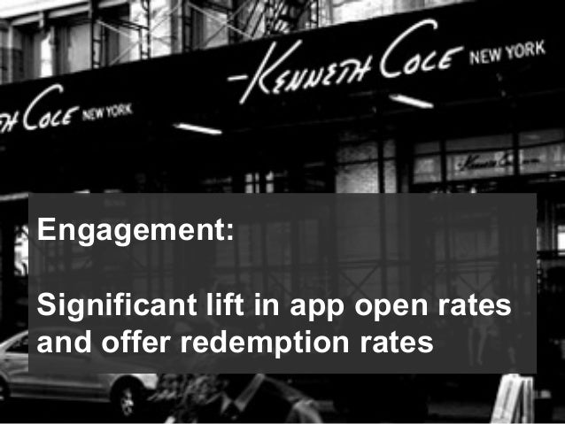 Engagement: Significant lift in app open rates and offer redemption rates