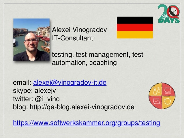 Test Cases - are they dead? Slide 2