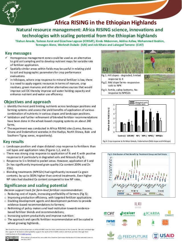 Natural resource management: Africa RISING science, innovations and technologies with scaling potential from the Ethiopian...