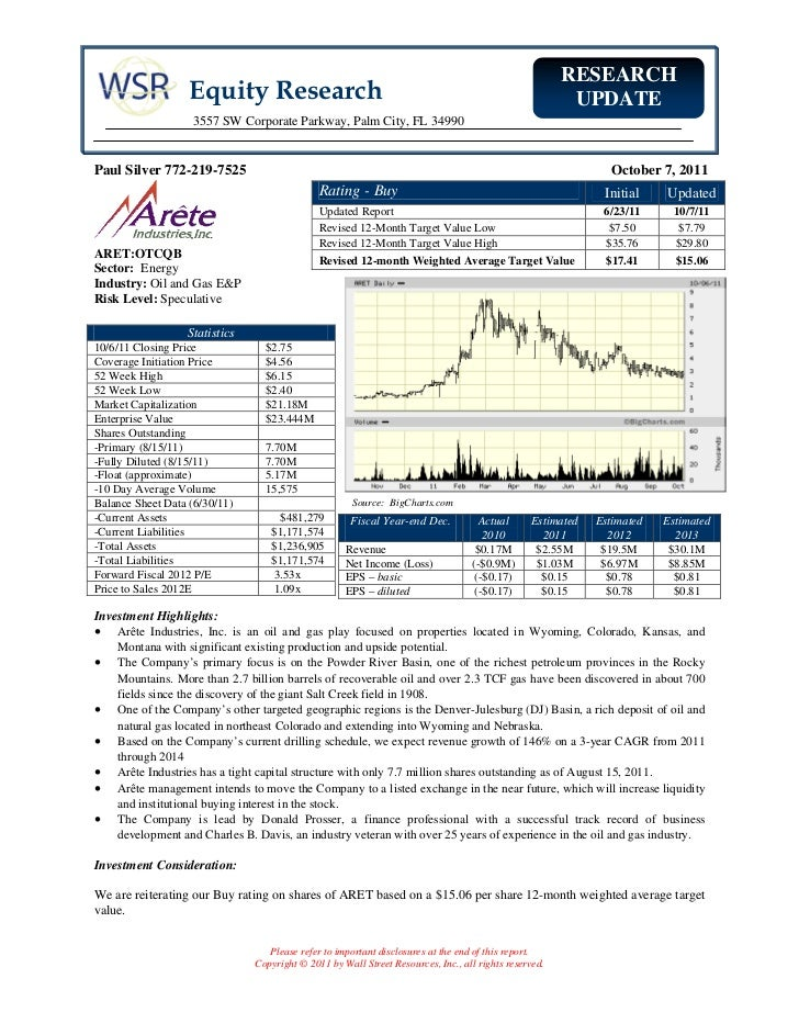 RESEARCH                   Equity Research                                                                      UPDATE    ...
