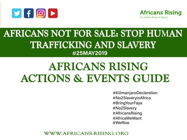 Africans Rising event guide