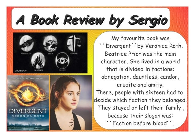 divergent by veronica roth essay example