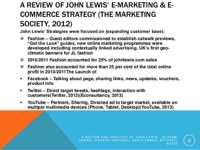 John lewis threat analysis