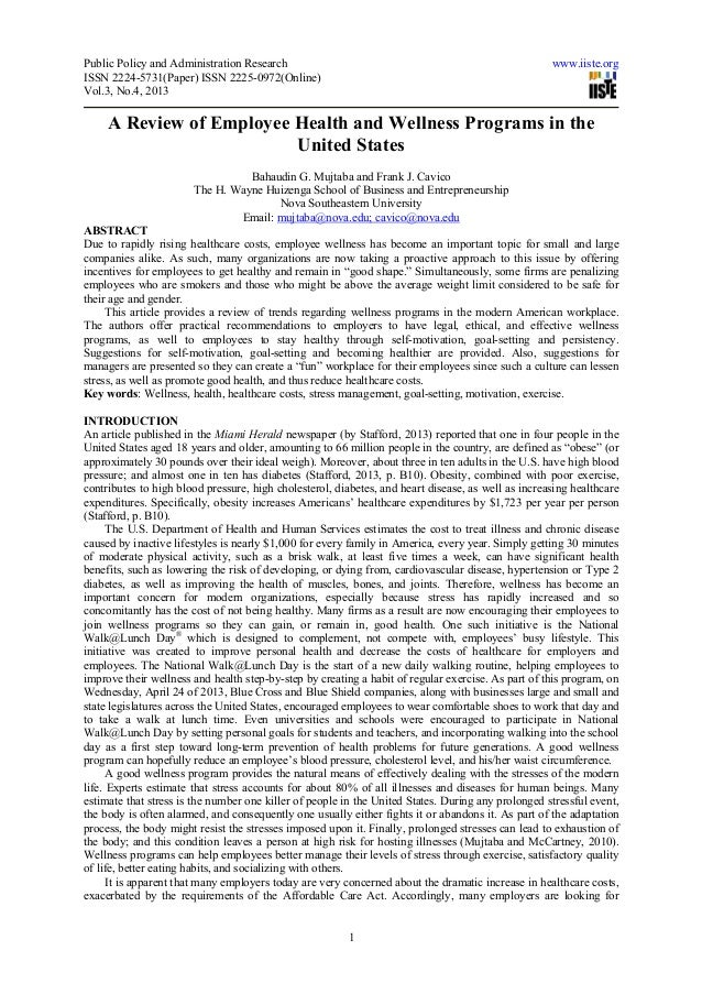 Public Policy and Administration Research www.iiste.orgISSN 2224-5731(Paper) ISSN 2225-0972(Online)Vol.3, No.4, 20131A Rev...
