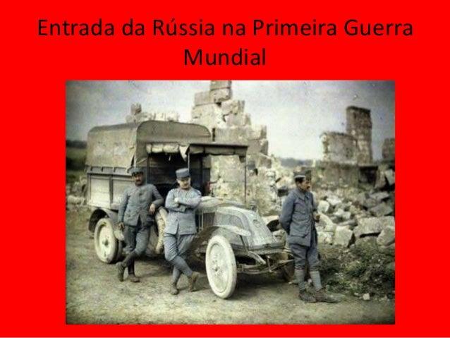 Entrada da Rússia na Primeira Guerra Mundial