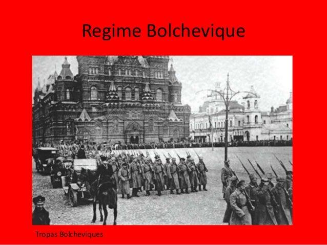 Regime Bolchevique Tropas Bolcheviques