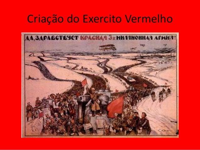 Criação do Exercito Vermelho