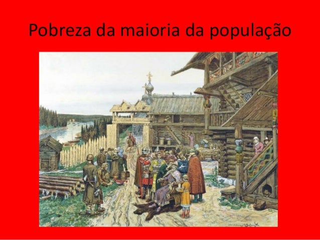 Pobreza da maioria da população