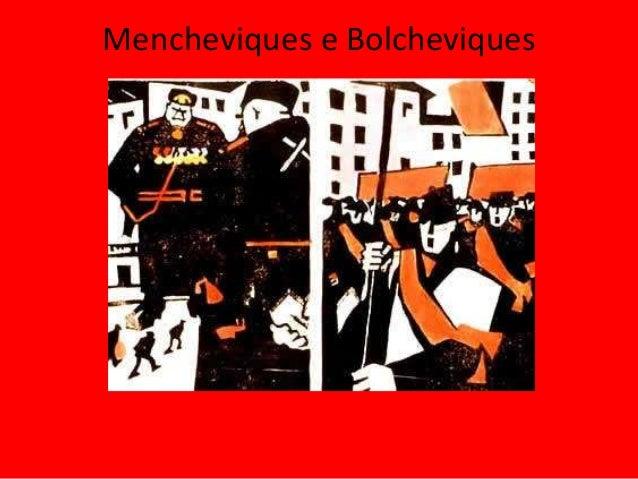 Mencheviques e Bolcheviques