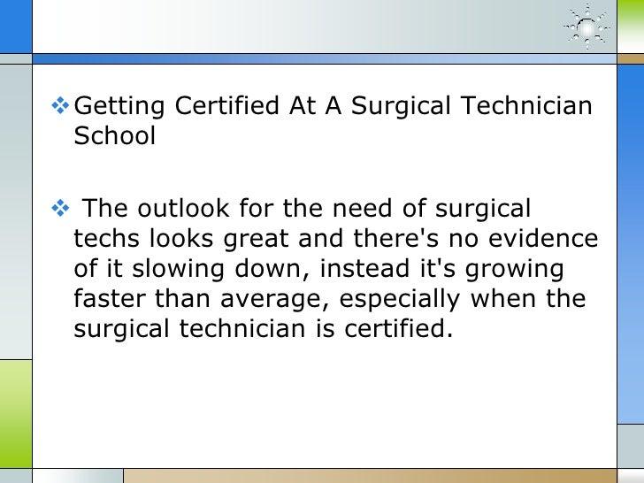 A rewarding career at surgical tech schools – Surgical Tech Job Description