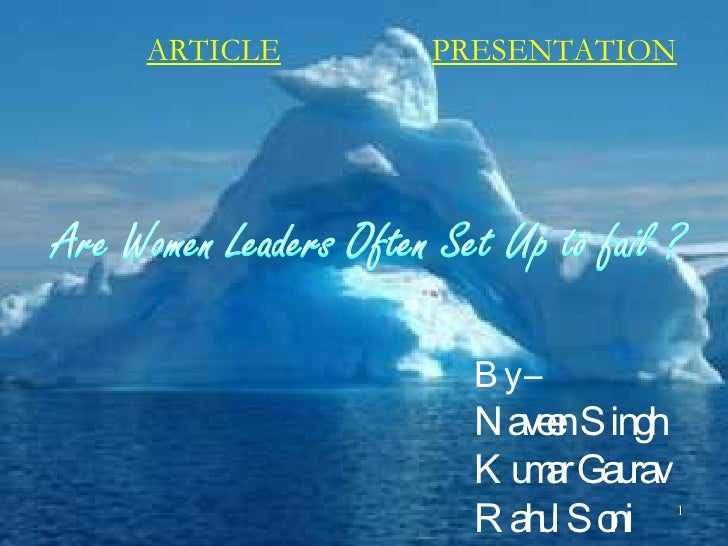 ARTICLE PRESENTATION By – Naveen Singh Kumar Gaurav Rahul Soni