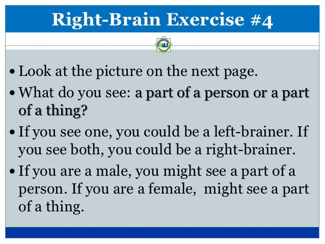 Are You a Left or a Right Brain