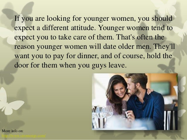 Older To Expect Dating Man What An
