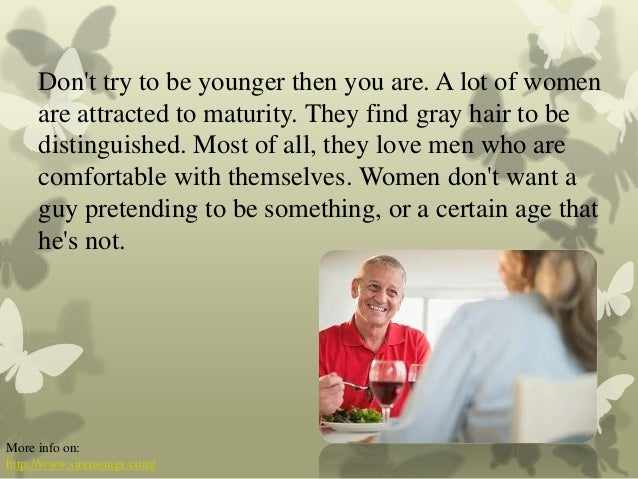 Tips for dating older man