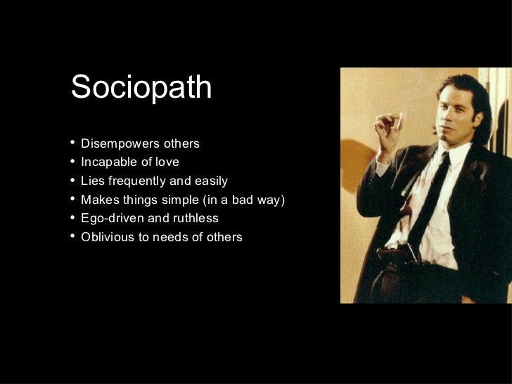 Social, Anti-Social or Sociopath?