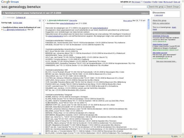 Summary Source info Search