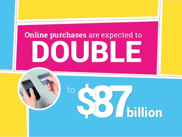 DOUBLE Online purchases are expected to billion to 78$