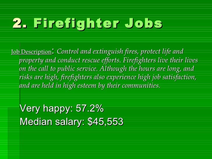 Clergy Jobs; 10. 2. Firefighter ...