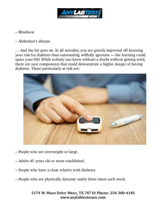 Are You Ignoring Diabetes? Slide 2