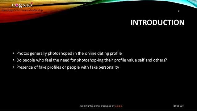photoshop dating profile
