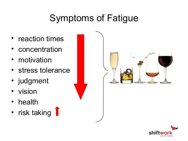are you managing the significant hazard of fatigue caused by shiftwor