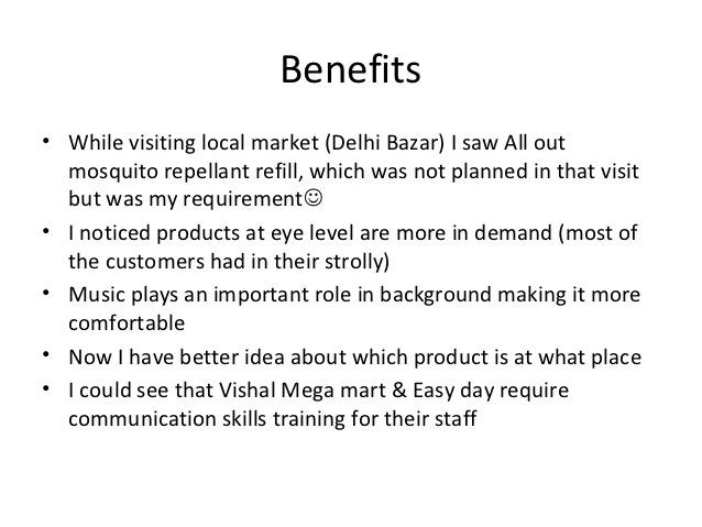 Benefits• While visiting local market (Delhi Bazar) I saw All out  mosquito repellant refill, which was not planned in tha...