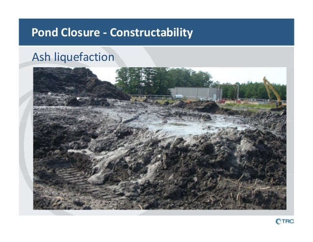 Are you prepared to close your ash ponds for Design of ash pond