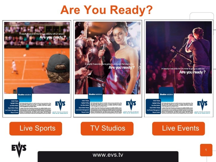 Are You Ready? Live Sports TV Studios Live Events