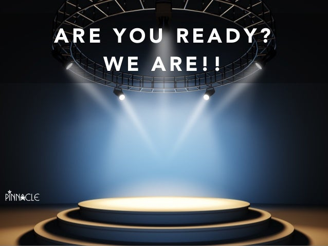Kinder Garden: Are You Ready... We Are