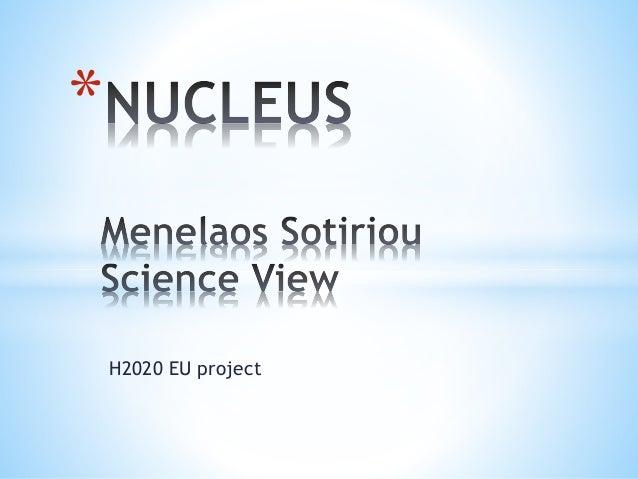 * H2020 EU project