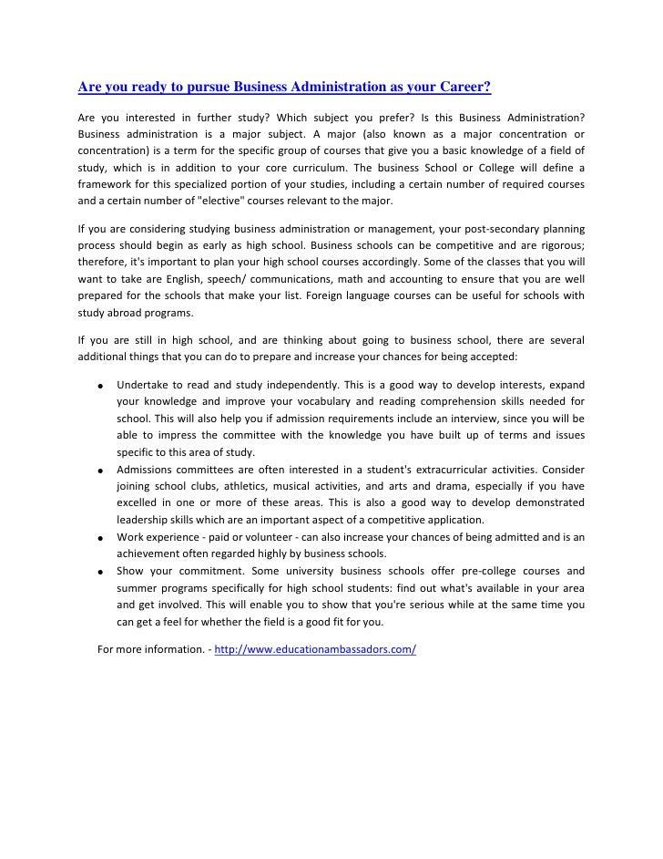 """HYPERLINK """"http://educationambassadors.blogspot.com/2010/12/do-you-prepare-for-business.html""""Are you ready to pursue Busin..."""
