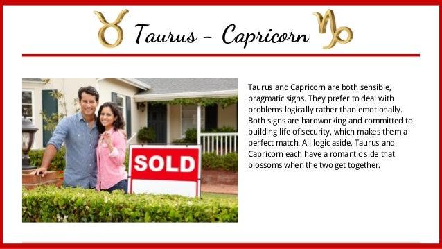 taurus man capricorn woman compatibility