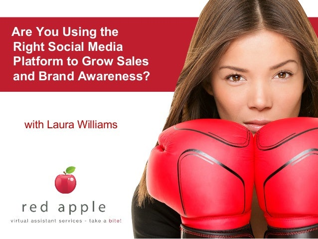 Are You Using the Right Social Media Platform to Grow Sales and Brand Awareness?  with Laura Williams
