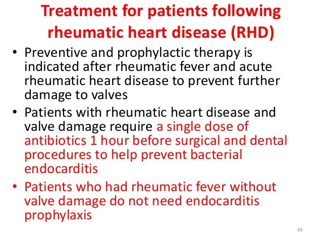 early signs and symptoms of rheumatic heart disease