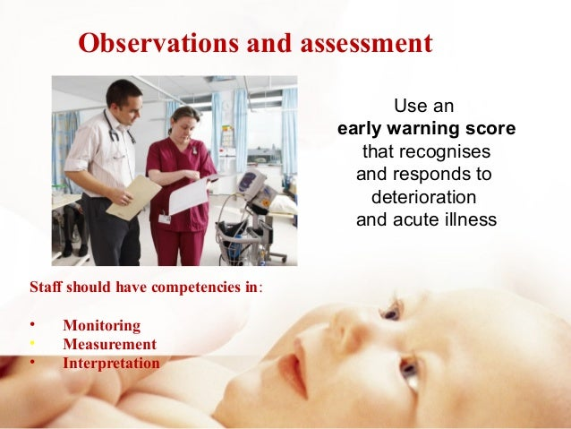 using early warning scores in acute illness assessment Ews/mews systems are used in conjunction with nurses' clinical judgement   prototype modified early warning scoring system constructed from the  score  (news): standardising the assessment of acute-illness.