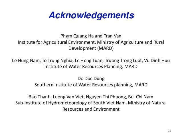 Climate change impacts on agriculture in vietnam for Usda rural development arkansas
