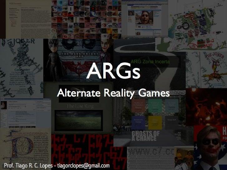 ARG's