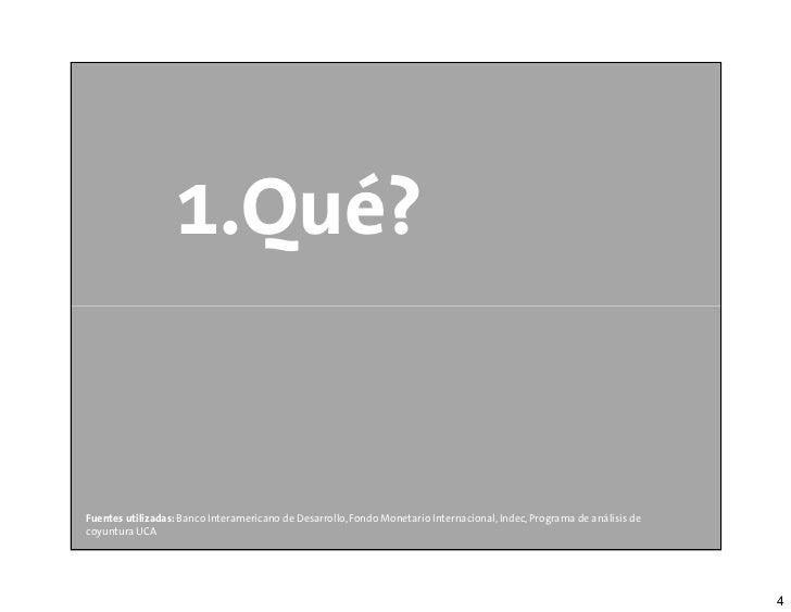 1.Qué?Fuentes utilizadas: Banco Interamericano de Desarrollo, Fondo Monetario Internacional, Indec, Programa de análisis d...