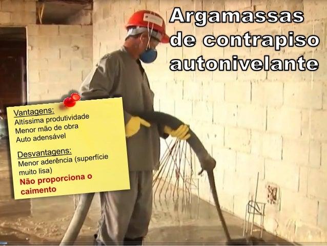 Argamassa - Materiais de Construção