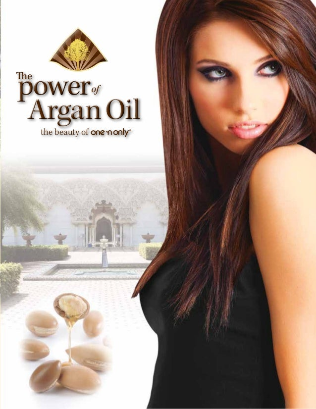 powerThe                      of Argan Oil      the beauty of        ®