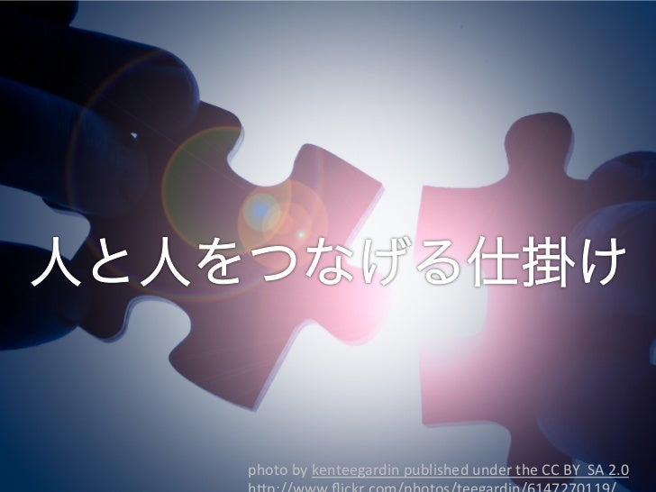 3 Copyright アカデミック・リソース・ガイド株式会社photo by kenteegardin published under the CC BY  SA 2.0            ...