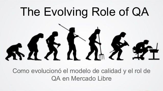 Como evolucionó el modelo de calidad y el rol de QA en Mercado Libre The Evolving Role of QA