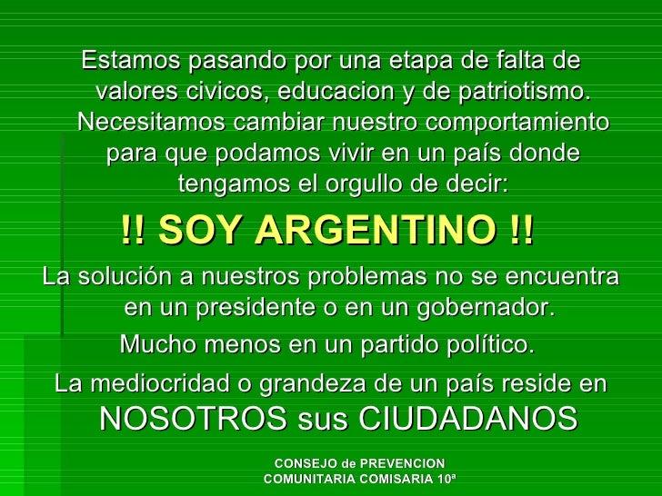 Argentina: problemas y soluciones