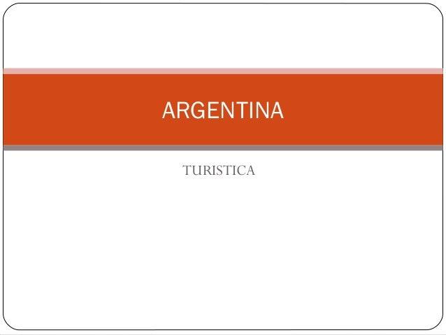 TURISTICA ARGENTINA