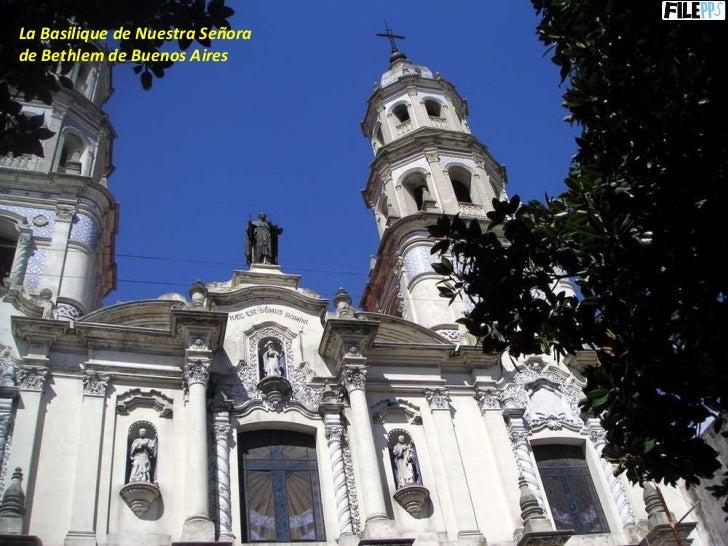 La Basilique de Nuestra Señora  de Bethlem de Buenos Aires