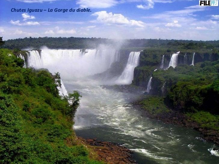 Chutes Iguazu – La Gorge du diable.