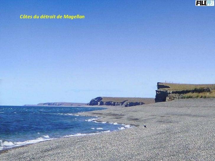 Côtes du détroit de Magellan