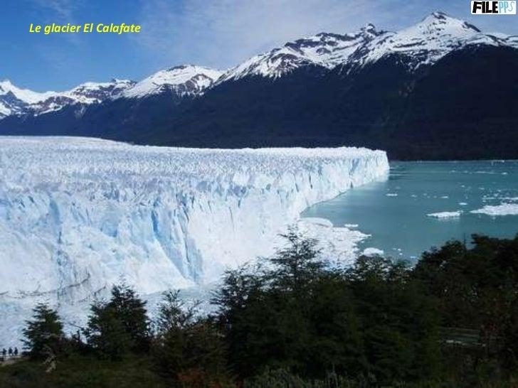 Le glacier El Calafate
