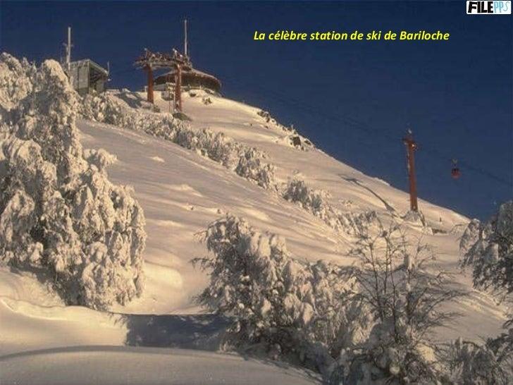 La célèbre station de ski de Bariloche
