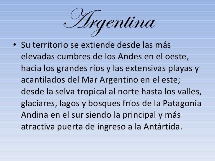Argentina! Slide 3